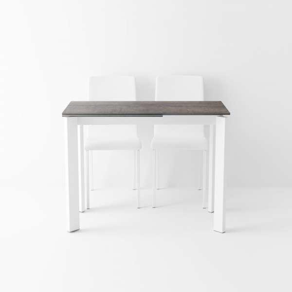 Table petit espace extensible en céramique - Poker 4 - 3