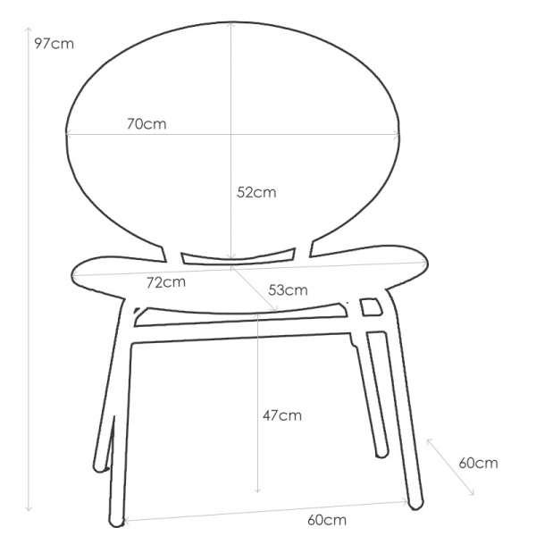 Chaise confort ergonomique pour personne corpulente - Solatium 6 - 7
