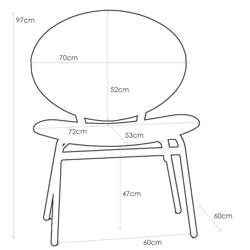 Chaise Confort Ergonomique Pour Personne Corpulente Solatium Carrier 4 Pieds Com