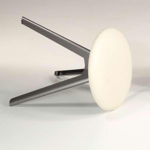 Tabouret bas pivotant en métal et synthétique - Vérone 9 - 7