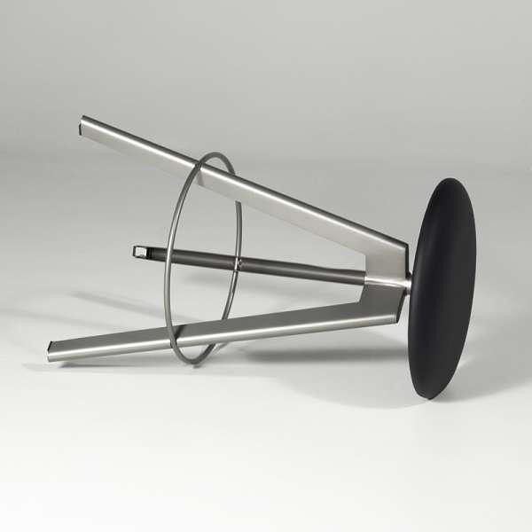 Tabouret snack pivotant en synthétique et métal - Verone 3 - 3