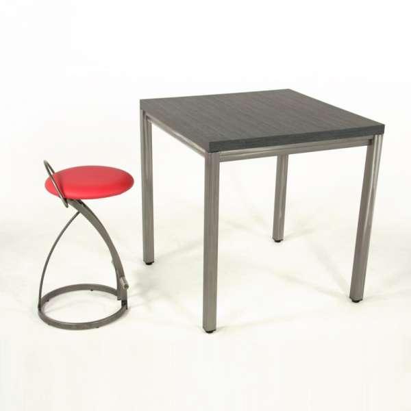 Table snack style industriel - Urane 5 - 5