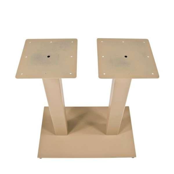 Pied de table en métal - Square 650 - 3