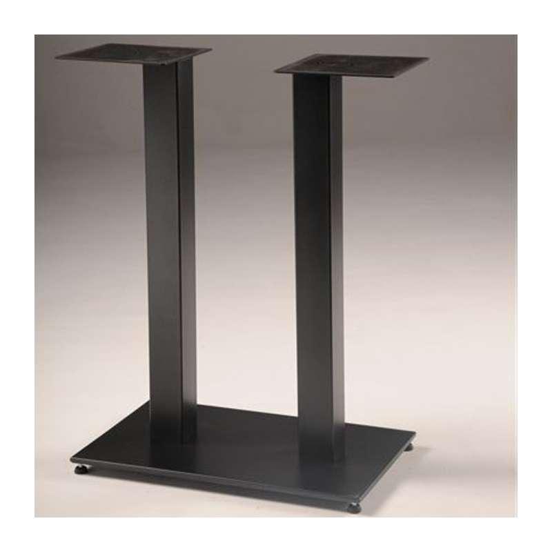 Pied De Table Central En Metal Base Rectangulaire Square 650