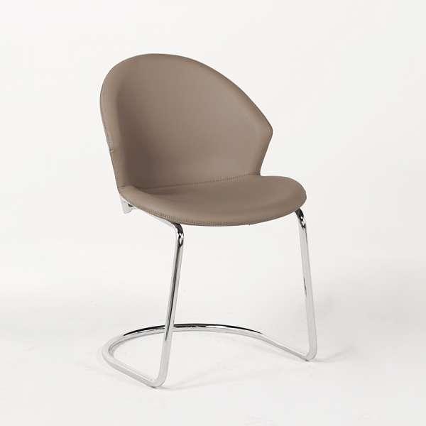 Chaise design en métal - Jazz - 4