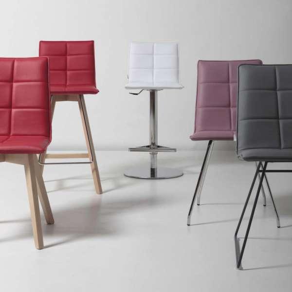 Chaise moderne en bois - Iris Wood - 3