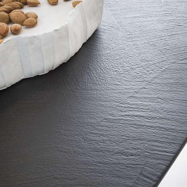 Table design rectangulaire en ecomalta et bois - Raw 4 - 4