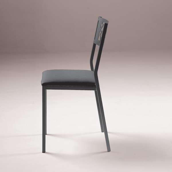 Chaise de cuisine en métal style industriel - Slide Industrie - 4