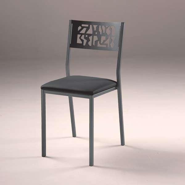 Chaise de cuisine moderne en métal style industriel - Slide Industrie - 3