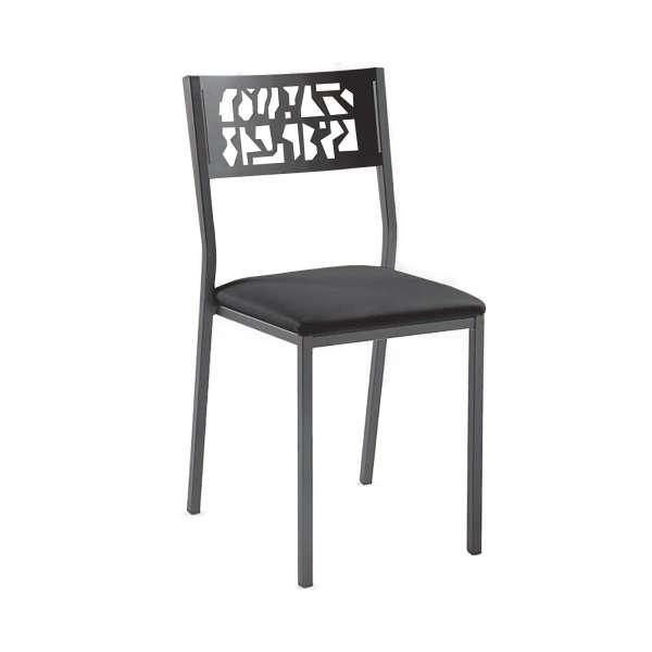 Chaise moderne en métal style industriel - Slide Industrie - 1