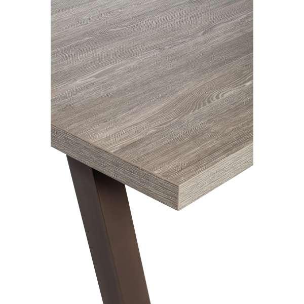 Table de salle à manger en stratifié et métal - Queen - 3