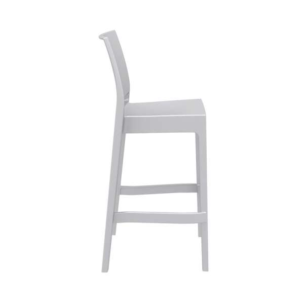 Tabouret de bar coloris blanc - Maya - 25
