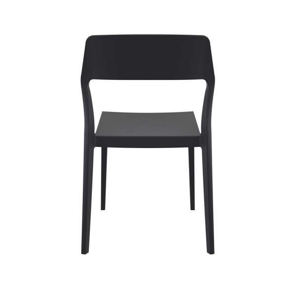 Chaise design noire - Snow - 12