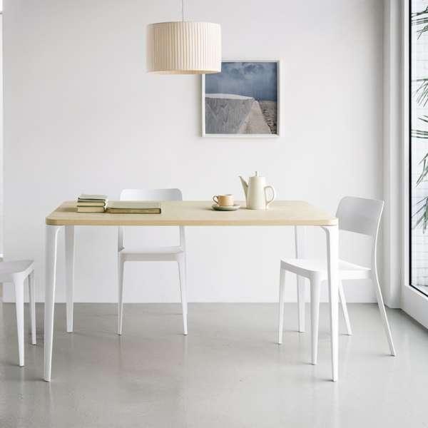 Chaise moderne en polypropylène blanc - Nené Midj® - 1