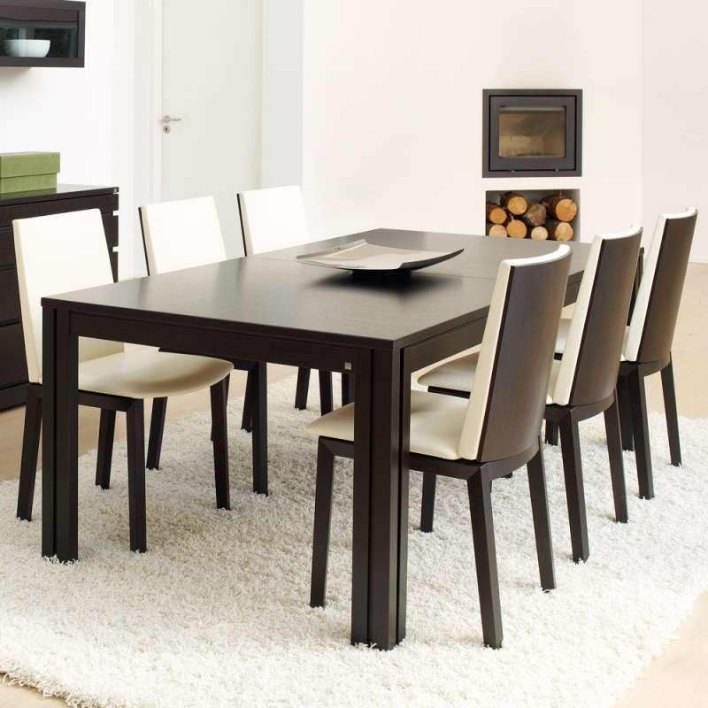 Allonges Sm23 En Rectangulaire Scandinave Table Avec Bois 24 wn0POk