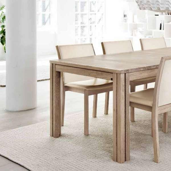 Table en bois avec allonges - SM23 -24 - 7