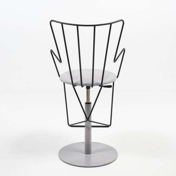 Tabouret design réglable made in France - Well - 7
