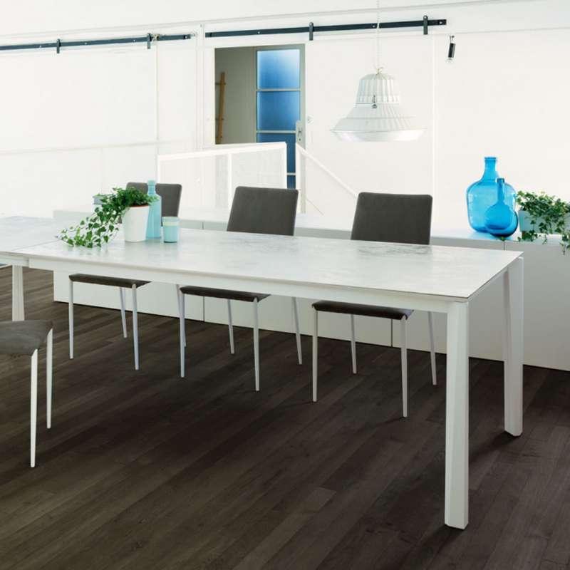 Acier Céramique Prisma Extensible En Et Laqué Table By Bontempi® Moderne Ingenia wPXuOkTZi