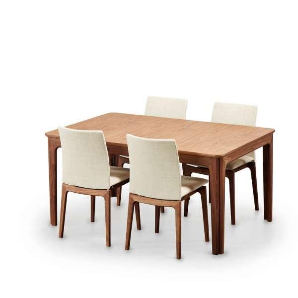 Table de salle à manger scandinave en bois moyen avec allonges - SM 26-27 - 9