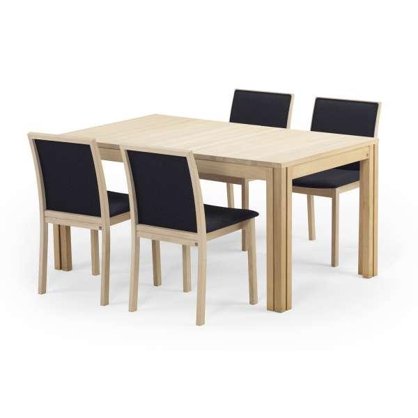 Table extensible scandinave en bois clair - SM23-24 - 14
