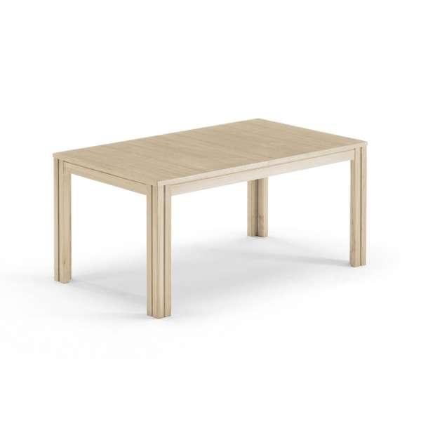 Table extensible scandinave rectangulaire en bois clair - SM23-24 - 13