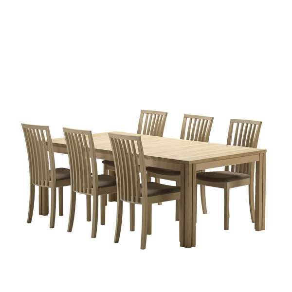Table extensible scandinave en bois moyen - SM23-24 - 16