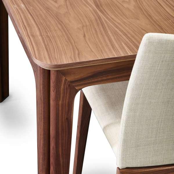 Table de salle à manger scandinave en bois moyen extensible - SM26-27 - 10