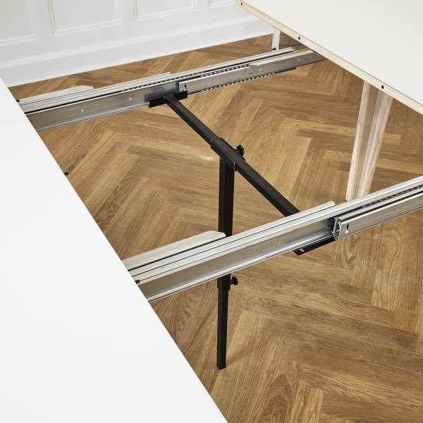 Table en bois naturel style scandinave extensible - SM112 - 5