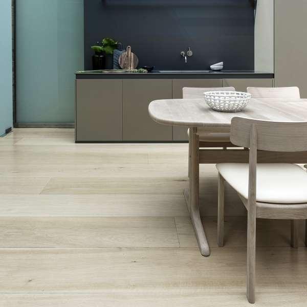 Table en bois massif scandinave elliptique extensible - SM 74 - 2