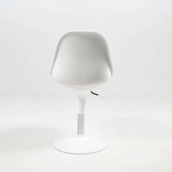 Chaise design en technopolymère blanc - Harmony - 8