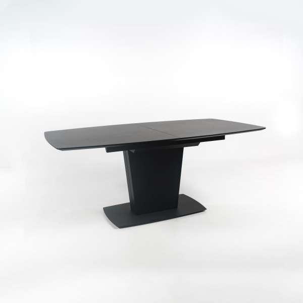 Table de salle à manger extensible en céramique noire - Athos Connubia® - 15