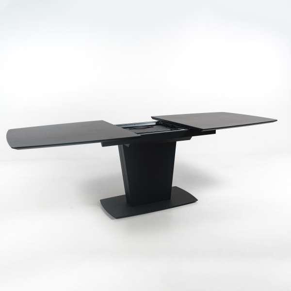 Table de séjour extensible en céramique noire - Athos Connubia® - 16