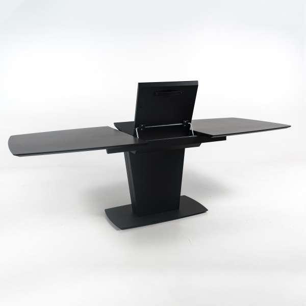 Table de salle à manger avec allonge en céramique noire - Athos Connubia® - 17