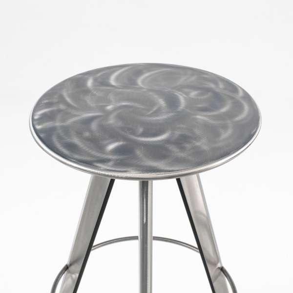 Tabouret de bar en métal assise aléatoire- Vérone - 5