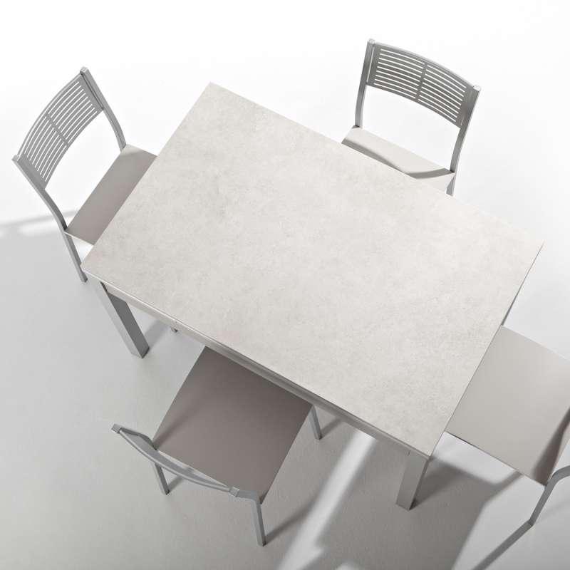Petite Table De Cuisine Extensible En Céramique Avec