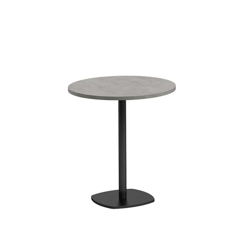 Petite Table De Cuisine Ronde Diametre 70 Cm En Stratifie Avec