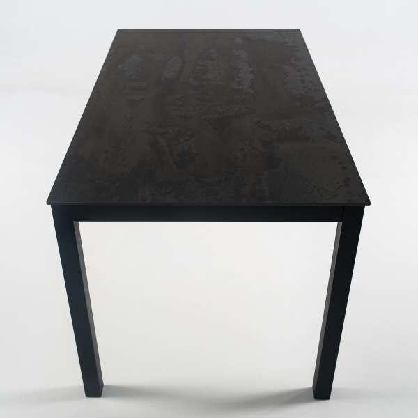 Table rectangulaire en dekton et pieds en métal - Millenium 4 - 3