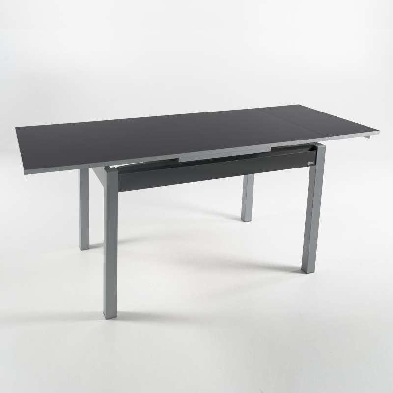 Petite table de cuisine extensible en formica avec tiroir - Petite table de cuisine ...