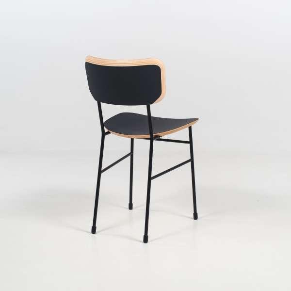 Chaise en métal et fénix noir - Master S Midj® - 6