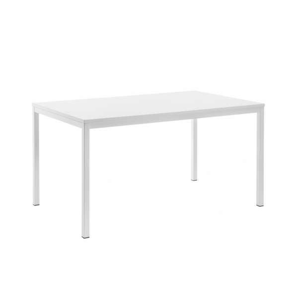 Table rectangulaire plateau stratifié et pieds en métal - Cobra - 3