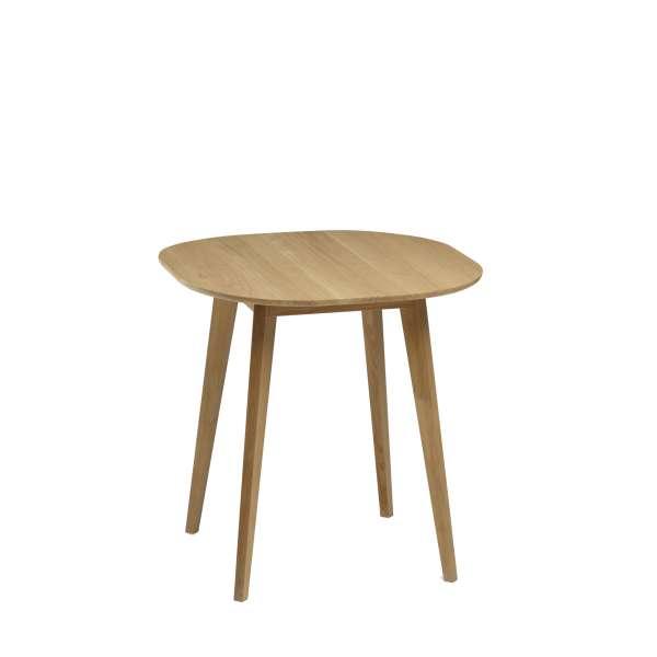 Table snack style scandinave en bois massif naturel fabrication française - S9 - 2