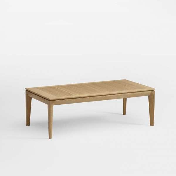 Table basse rectangulaire 120 x 60 cm avec tiroir fabrication française - BU30 - 1