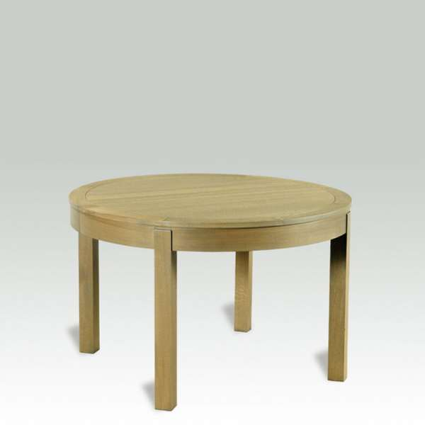 Table ronde en bois massif avec allonges – Moderne MR