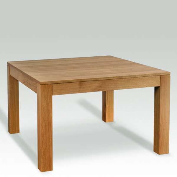Table carrée extensible en bois massif made in France – Moderne MC - 1