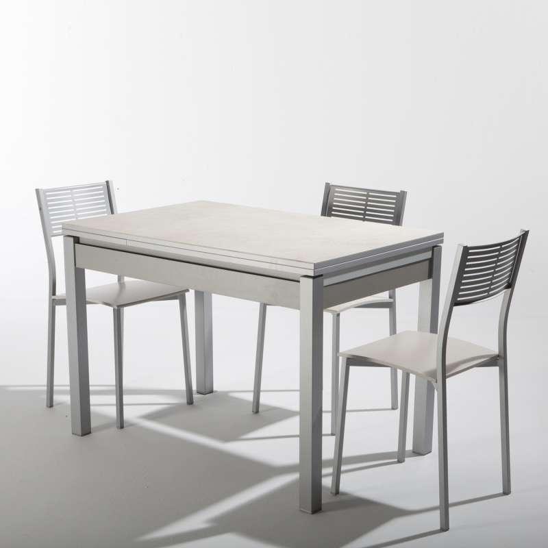 Table Cuisine Avec Chaise: Petite Table De Cuisine Extensible En Céramique Avec