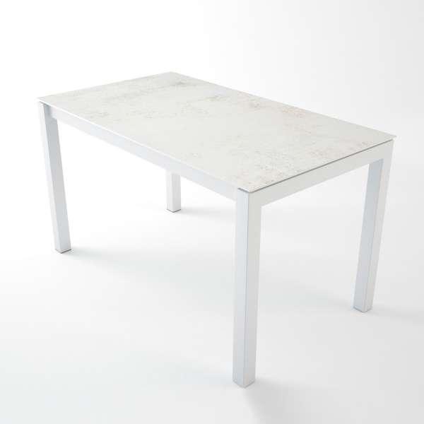 Table snack en dekton Nilium rectangulaire avec structure en métal - Lakera - 3