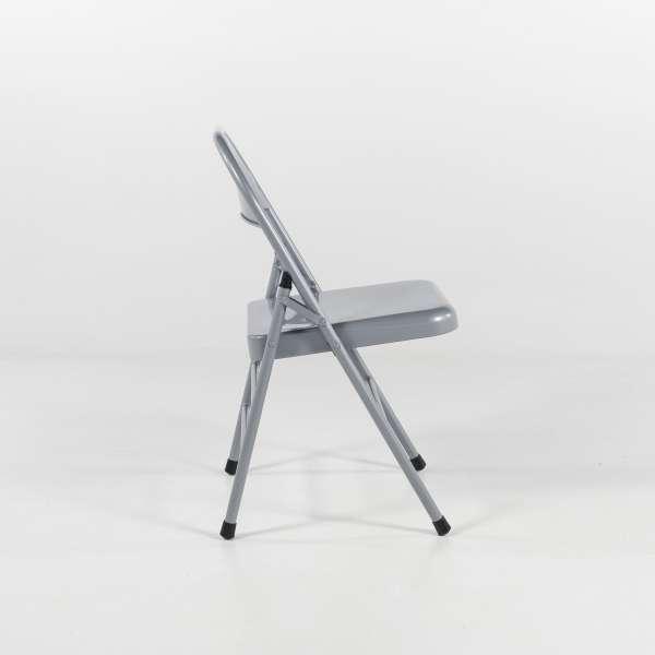 Chaise pliante en métal - Mathiew - 6