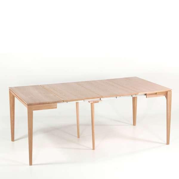Table console extensible en chêne massif fabriquée en France - Buzz - 13