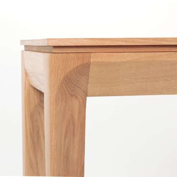Console extensible en bois massif fabrication française - Buzz - 2