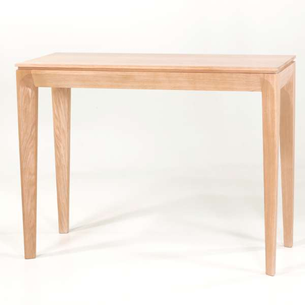 Table console en bois massif made in France - Buzz - 21